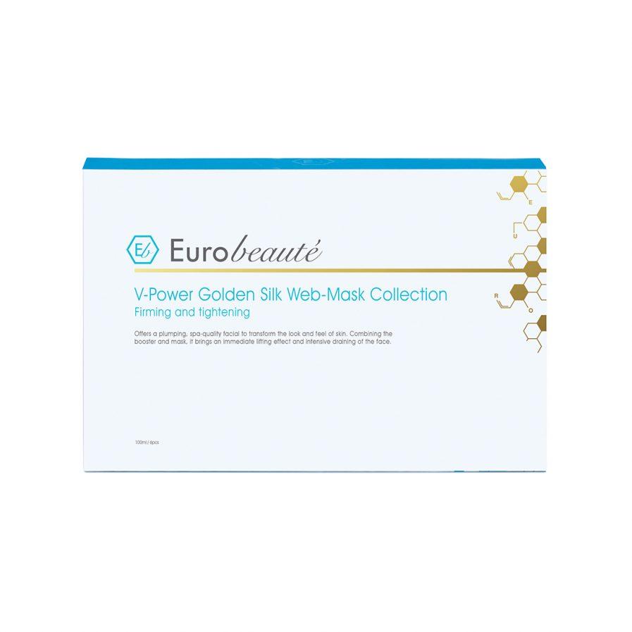 炫光金絲提升面膜組合 0014H2844_Eurobeaute-V-Power-Golden-Silk-Web-Mask-Collection_2